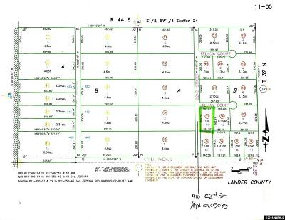Battle Mountain Residential Lots & Land For Sale: 410 22nd Street