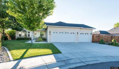 Gardnerville Single Family Home Active/Pending-Loan: 1382 Cardiff Ct