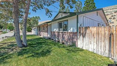 Washoe County Single Family Home Active/Pending-Loan: 160 Cheyenne