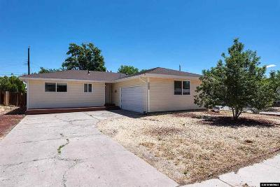 Sparks Single Family Home For Sale: 3280 Probasco Way