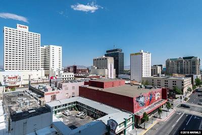 Washoe County Condo/Townhouse Active/Pending-Loan: 255 N Sierra Street #806 #806