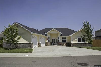 Carson City Single Family Home For Sale: 2753 Christmas Tree Drive