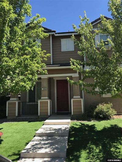 Sparks Single Family Home Active/Pending-Loan: 3850 Artadi Dr.