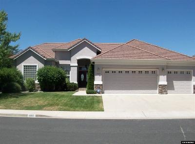 Reno Single Family Home Active/Pending-Loan: 1897 Far Niente Court