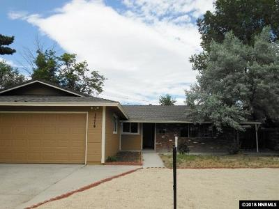 Sparks Single Family Home For Sale: 1774 Zephyr Way