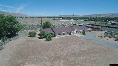 Washoe County Single Family Home For Sale: 25 E Sky Ranch Blvd
