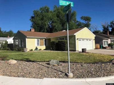 Reno Single Family Home Price Reduced: 1875 Vale Street