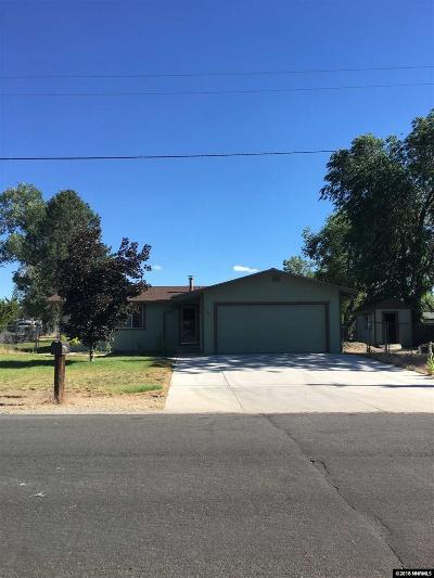 Gardnerville Single Family Home For Sale: 1351 Marlette