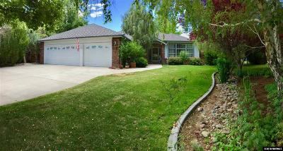 Gardnerville Single Family Home Active/Pending-Call: 976 Pleasant View Ct.