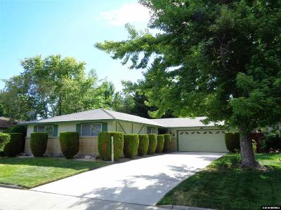 Carson City Single Family Home Active/Pending-Loan: 1936 Sunland Drive
