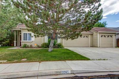 Sparks Single Family Home For Sale: 3245 Brisa Court