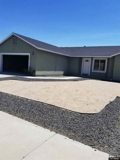Fernley Single Family Home For Sale: 1308 Turf