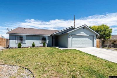 Fernley Single Family Home For Sale: 555 Spur
