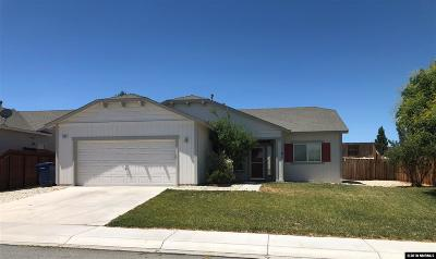 Fernley Single Family Home For Sale: 1087 Dixie