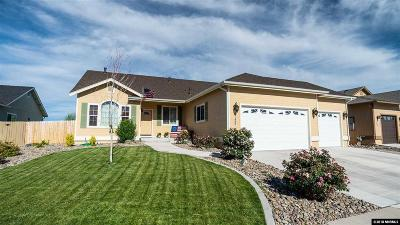 Gardnerville Single Family Home Active/Pending-Call: 1495 Cardiff Dr