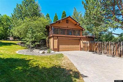 Reno Single Family Home For Sale: 12935 Roseview Lane