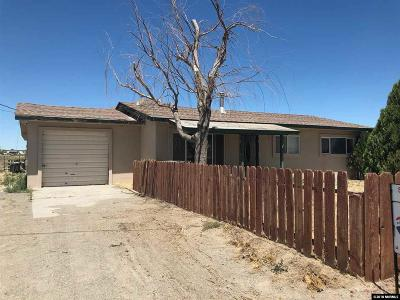 Fallon Single Family Home For Sale: 6450 Zephyr