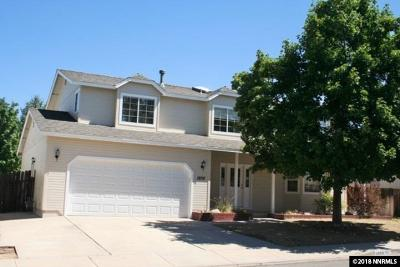 Carson City Single Family Home For Sale: 1806 Mathe Dr