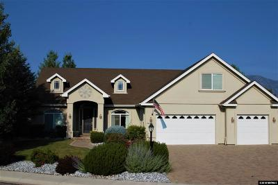 Minden Single Family Home Active/Pending-Loan: 2862 La Cresta Circle