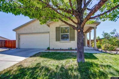 Sparks Single Family Home For Sale: 7425 Aquene Drive