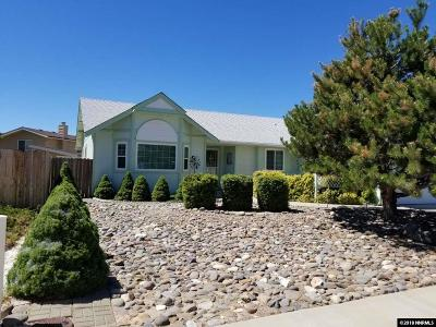 Carson City Single Family Home Active/Pending-Call: 1922 Hamilton