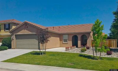 Reno Single Family Home Active/Pending-Loan: 395 Pesaro
