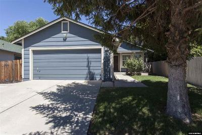 Sparks Single Family Home Active/Pending-Loan: 1636 Noreen