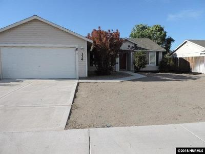 Fernley Single Family Home For Sale: 136 Prairie