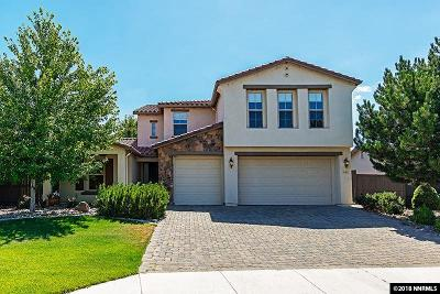 Washoe County Single Family Home For Sale: 640 Caspian Court