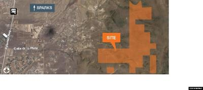 Sparks Residential Lots & Land For Sale: 1670 Acres Spanish Springs