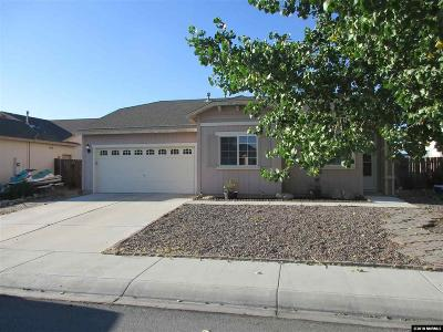 Fernley Single Family Home New: 181 Desert Springs Lane