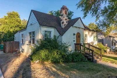 Reno Single Family Home For Sale: 1124 Bon Rea Way
