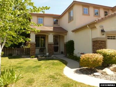 Washoe County Single Family Home For Sale: 2999 Blue Grouse