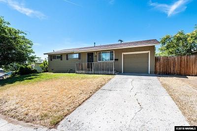 Reno Single Family Home For Sale: 1015 Casa Loma