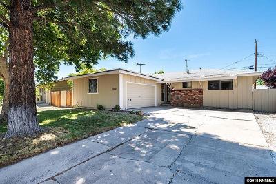 Reno Single Family Home For Sale: 1040 Casa Loma