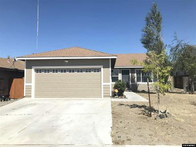 Fernley Single Family Home New: 429 Fort Sutter Blvd