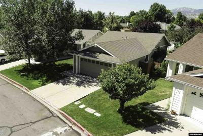 Washoe County Single Family Home Active/Pending-Loan: 7707 Barnsdale