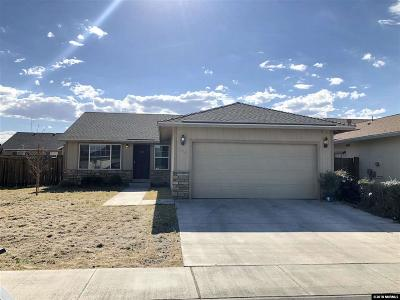 Fernley Single Family Home New: 134 Relief Springs