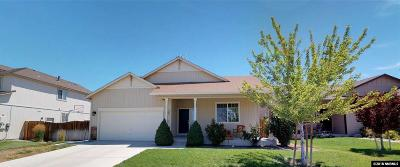 Fernley Single Family Home New: 1597 Laverder Drive