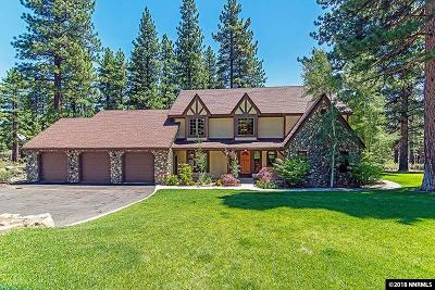 Washoe County Single Family Home For Sale: 17160 Snowberry