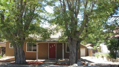 Washoe County Single Family Home Active/Pending-Loan: 608 Front Street