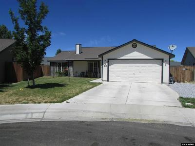 Fernley Single Family Home New: 510 Garden Circle