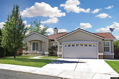 Carson City Single Family Home Active/Pending-Loan: 1472 Northill