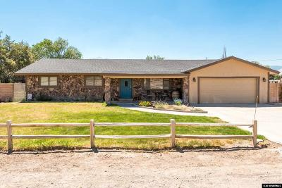 Gardnerville Single Family Home New: 706 Mustang