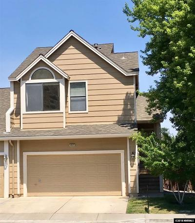 Washoe County Condo/Townhouse For Sale: 4045 Snowshoe Lane