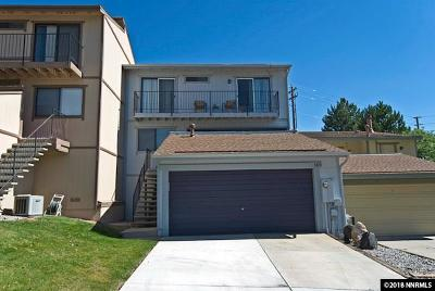 Washoe County Condo/Townhouse For Sale: 3415 Balboa Dr