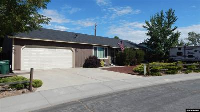 Carson City Single Family Home New: 3467 Gregory