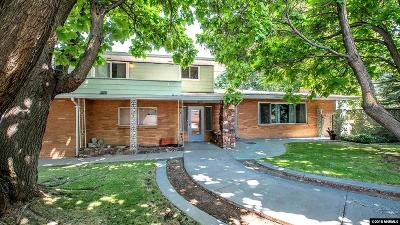 Washoe County Single Family Home For Sale: 190 Gallian Lane