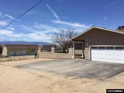Washoe County Single Family Home New: 9250 Bull Road