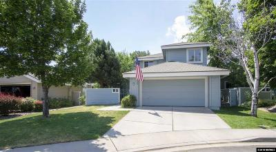Reno Single Family Home New: 3338 Current Court